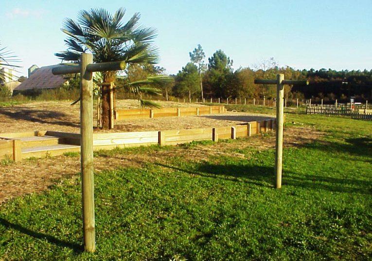 Etendoir à linge en bois