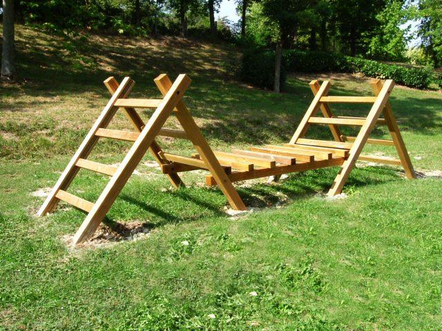 Parcours de santé en bois