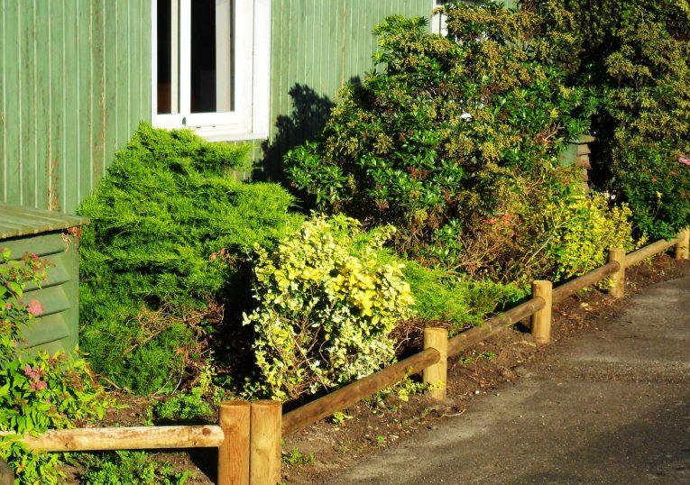 Clôture Garden en bois