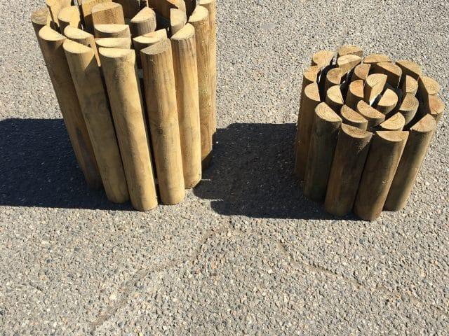 Bordure bois